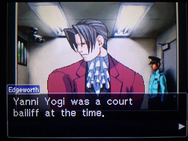 逆転裁判 北米版 かつてのヤニ・ヨギとは?3
