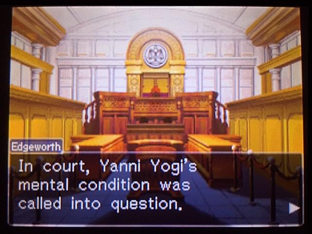 逆転裁判 北米版 かつてのヤニ・ヨギとは?12