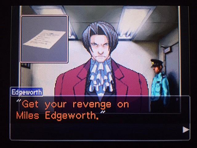 逆転裁判 北米版 エッジワースの悪夢29