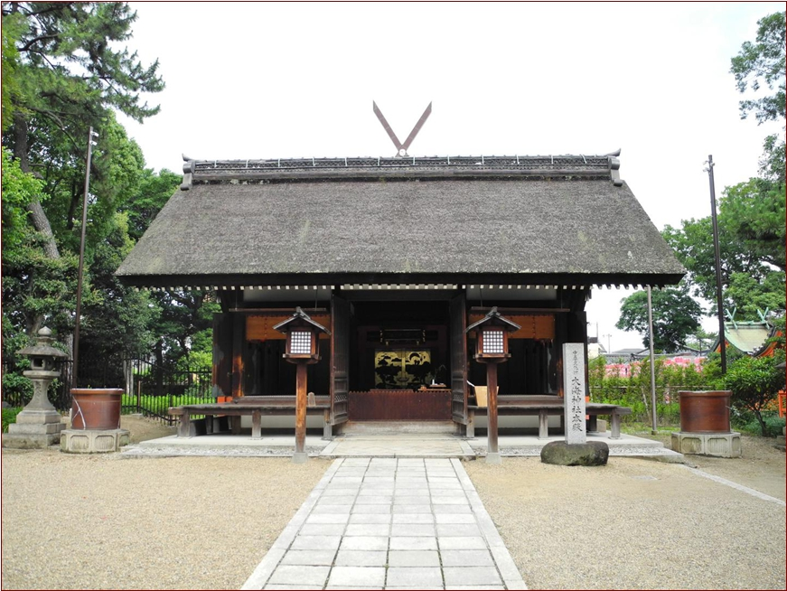8-6-2 住吉大社大海神社拝殿ー1