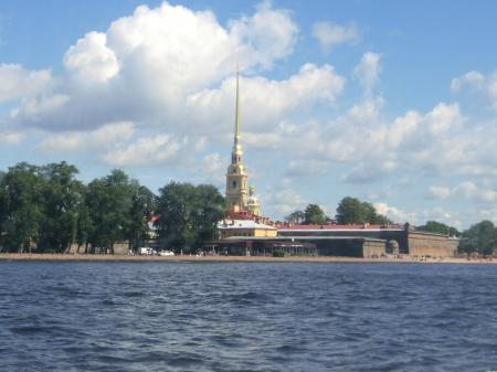 ペテルゴフ高速船3
