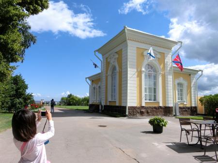 ペテルゴフ 噴水公園1