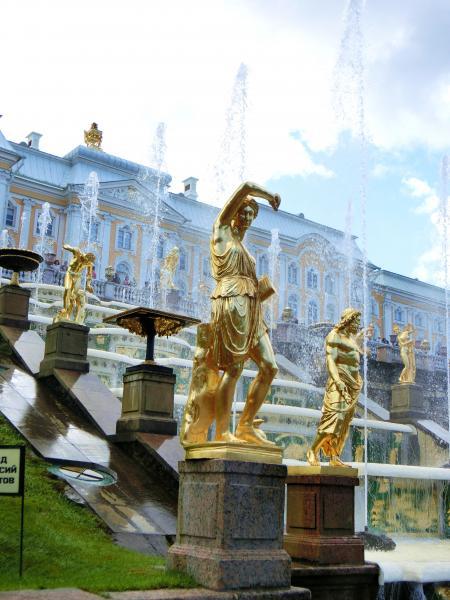 ペテルゴフ 噴水公園5