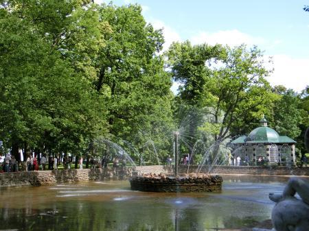 ペテルゴフ 噴水公園17