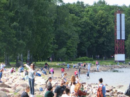 ペテルゴフ 噴水公園21