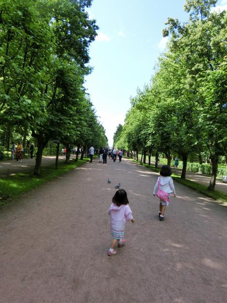 ペテルゴフ 噴水公園25