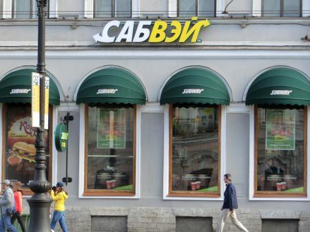 ロシア・サンクトペテルブルク サブウェイ