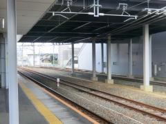 豊川駅構内