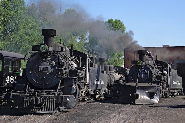 062215Cumbres Toltec Scenic Railroad No484 489 1