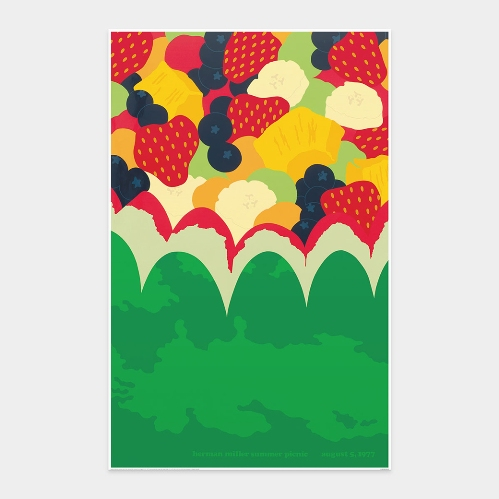フリックホルム:Herman Miller Summer Picnic August 5,1977 ミニポスター