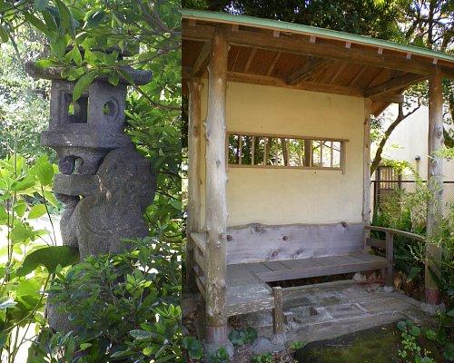 吉屋信子邸・庭1