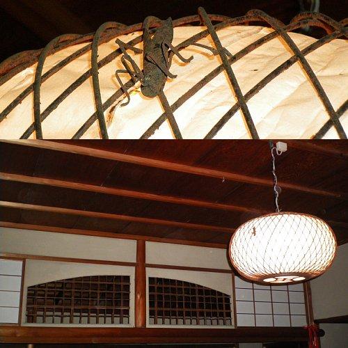 山本条太郎別邸・次の間照明