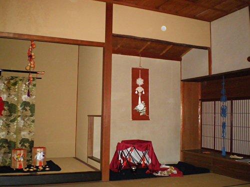 山本条太郎別邸・大広間床の間