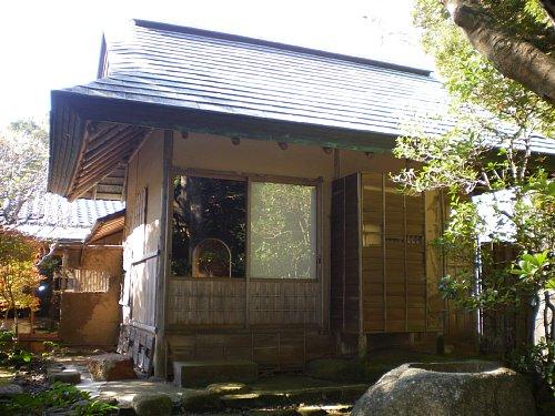 山本条太郎別邸・茶室②外