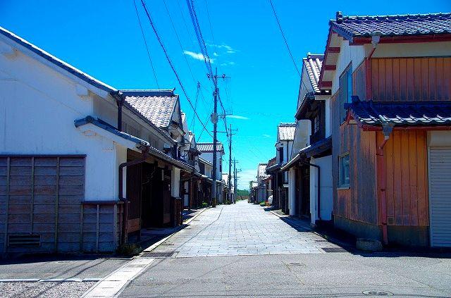 美々津の街並み