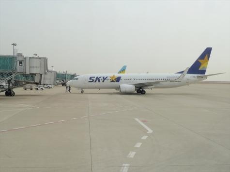 神戸空港【SKY182より】