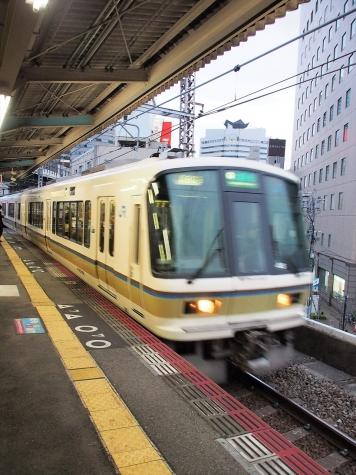 JR西日本 221系 電車 大和路快速