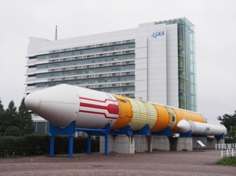 H-IIロケット【JAXA 筑波宇宙センター】
