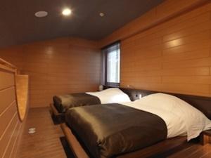 二階のベッドルーム