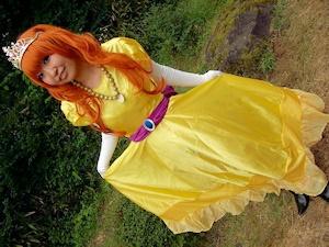 ローラ姫のコスプレ