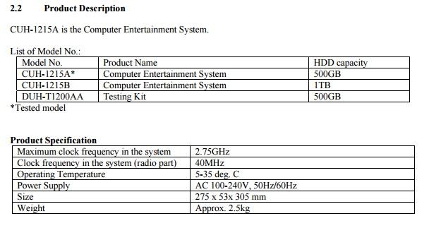 1TBハードディスク搭載した新型PlayStation4登場か