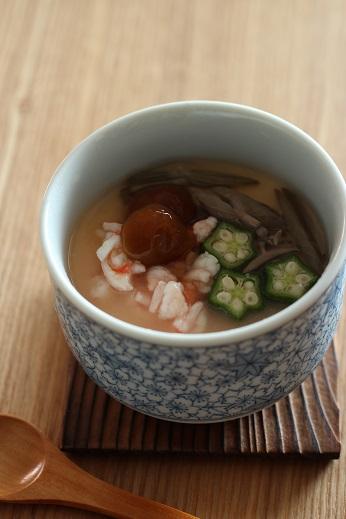 えび餡の冷やし茶碗蒸し1