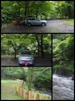 EVデイキャンプ 不動の滝オートキャンプ場