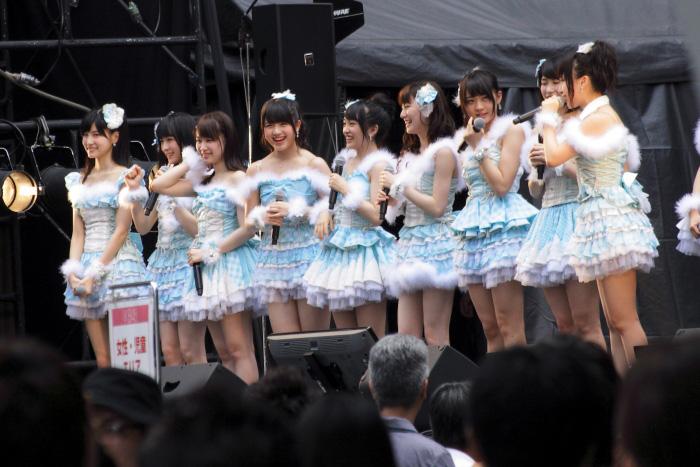 AKB48グランフロント大阪フリーライブ梅田 大和田南那