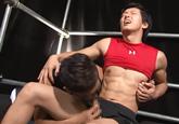 ゲイ動画:[男のプリケツ] 大胸筋ボンバー爽やかモロ感エロいでしょう !! 好帥哥