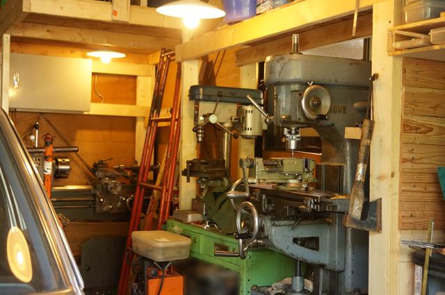 ヒノモトロータリーベース・日野十日町機関区機械工作スペース