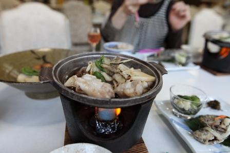 大山ユートピア 夕食15