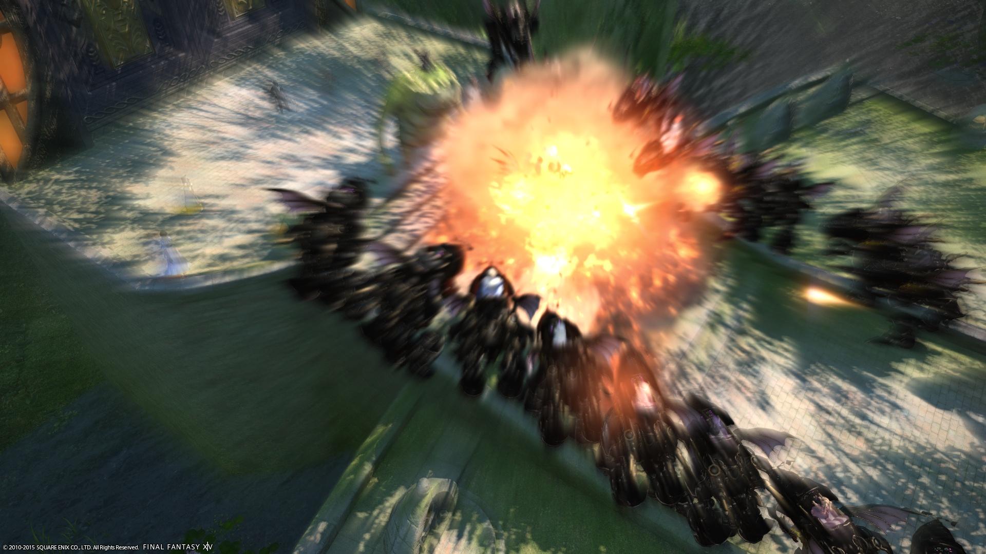 爆発だ!!