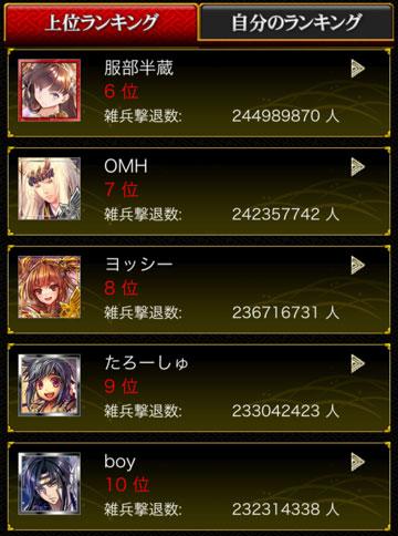 剣閃上位2