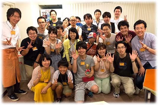 2015-08-01 ドミニオン覚えたて大会 記念撮影-w535