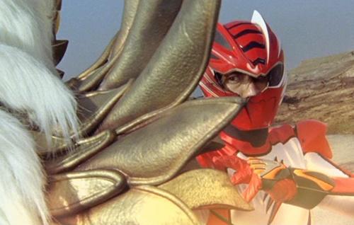 戦隊 ゲキレンジャー ゲキレッド マスク破壊 ヒーロー