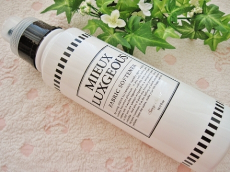 100%植物由来界面活性剤!ふんわり優雅な香り、肌に優しい柔軟剤【ミーラグジャスファブリックソフトナー】