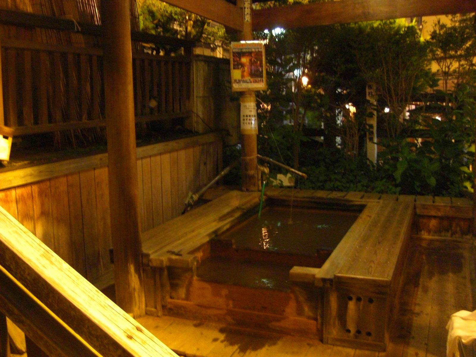 夜の渋温泉4