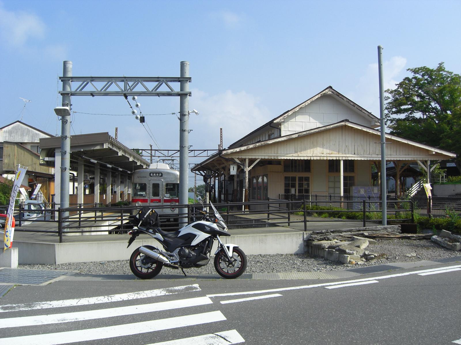 湯田中駅1長野電鉄