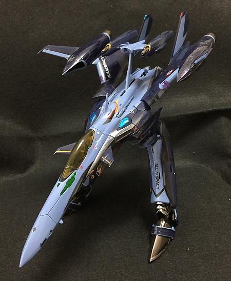 DX超合金 マクロス30銀河を繋ぐ歌声 YF-29B パーツィバル (ロッド機) 約220mm ABS&ダイキャスト製 塗装済み可動フィギュア