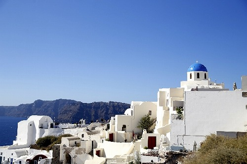ギリシャ エーゲ海 サントリーニ島