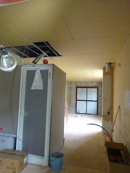 某アパート改修~内装下地施工中 2