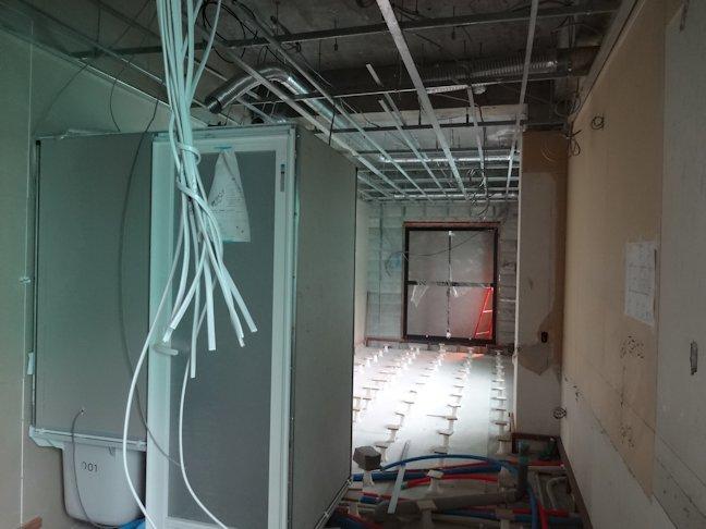 某アパート改修~内装下地施工中 1