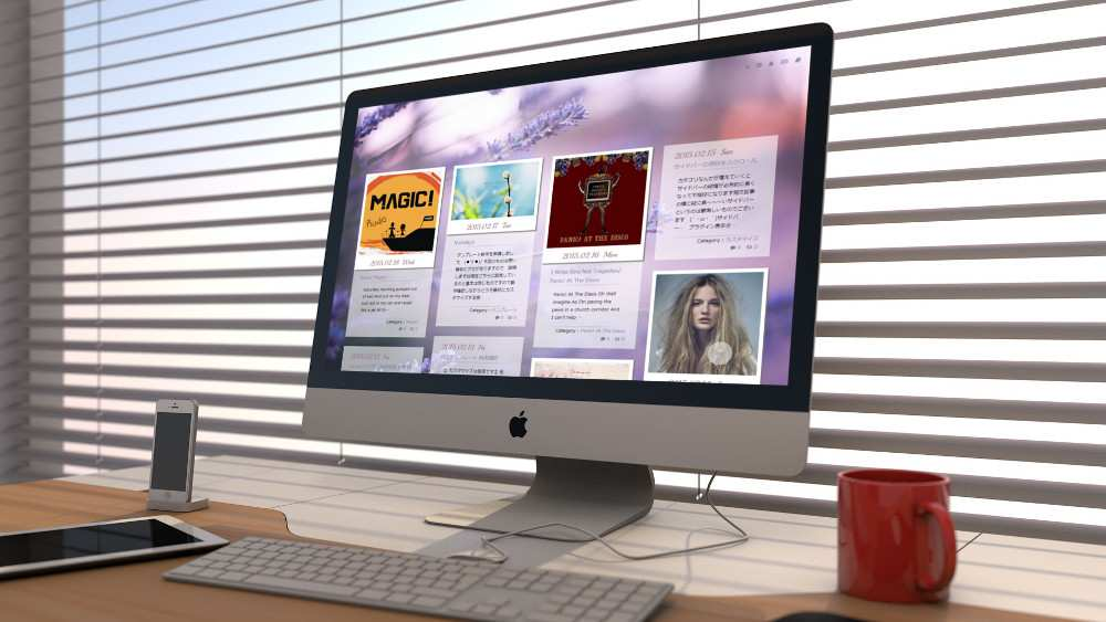 iMac Template 1