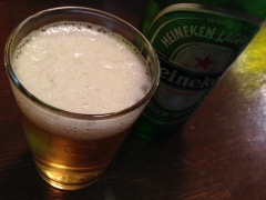 壱麺屋:ビール