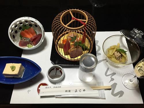 味乃宿 ふじや旅館 (食事)